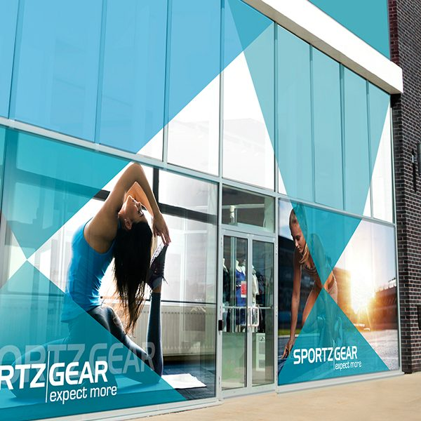 ViziPrint Impress Clear is specifically designed for trouble-free, dry installation of window graphics