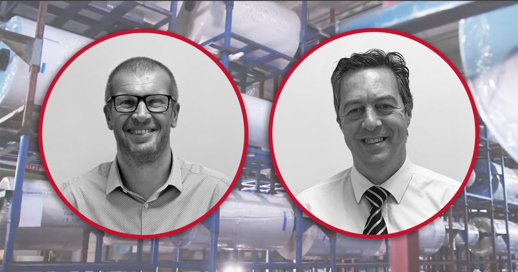 Drytac's Phil Webster promoted to Head of Industrial Sales EMEA; Stephen Ridyard appointed as Technical Manager.