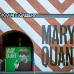 Signmob uses Drytac Polar Grip at the Bendigo Art Gallery for brick wall wrap for Mary Quant exhibit