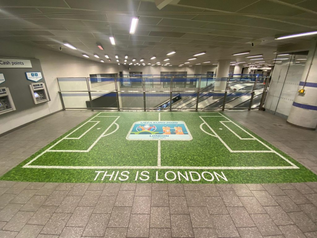 Links Signs and Drytac bring football home with London Underground installations